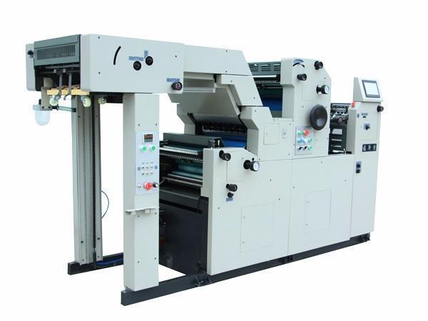 双面胶印机的递纸fangshi是怎样的